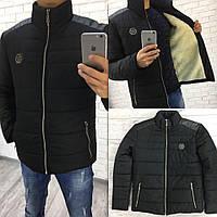 Куртка мужская / плащевка, синтепон 200 / Украина