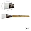 Кисть для нанесения маски и крема с деревянной ручкой Lady Victory SK-14