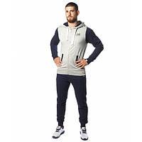 Спортивный костюм Leone Fleece Grey/Blue S