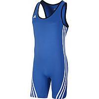 Трико для тяжелой атлетики ADIDAS Base Lifter Weightlifting Suit (Синее)