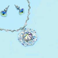 Набор с кристаллами Сваровски Северное сияние