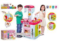 Детская Кухня 889-102 звук,свет, 44 предмета, 78 см, с крана течет вода, холодильник