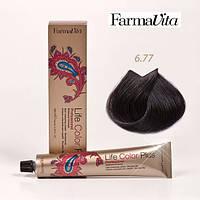 Краска для волос 6.77 Life Color Plus Светлый коричневый интенсивный кашемир 100 мл