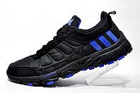 Кроссовки мужские Adidas Climawarm Oscillate Leather, Black\Dark Blue