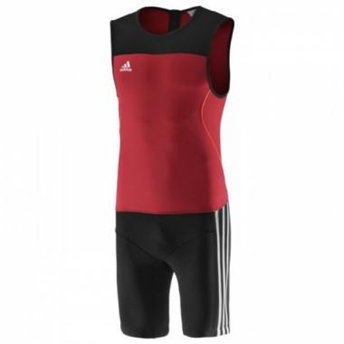 Трико для тяжелой атлетики ADIDAS Weightlifting Clima Lite Suit (Красное) S - Интернет-магазин «X-trade» в Киеве