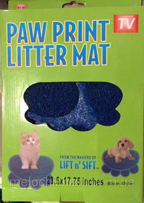 Коврик для собак и кошек Pаw Print Litter Mаt (Арт. 26711), фото 2