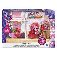 Мой маленький пони - игровой набор my little pony equestria girls Пижамная вечеринка Пинки Пай