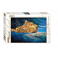 Пазл Леопарды 560 эл., Step Puzzle