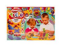 Комплект креативного творчества Тесто для лепки master do danko toys tmd-03-04 15 цветов*20 гр