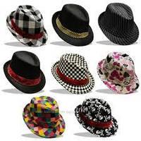 Классические шляпы, шляпы ковбоя, шляпы гангстеров