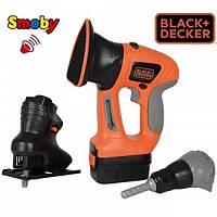 Smoby Игровой набор инструментов 3 в 1 Black & Decker 360102