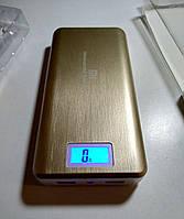 Портативный аккумулятор Power Bank Xiaomi 50000mAh (2 USB) + LED фонарь, с дисплеем