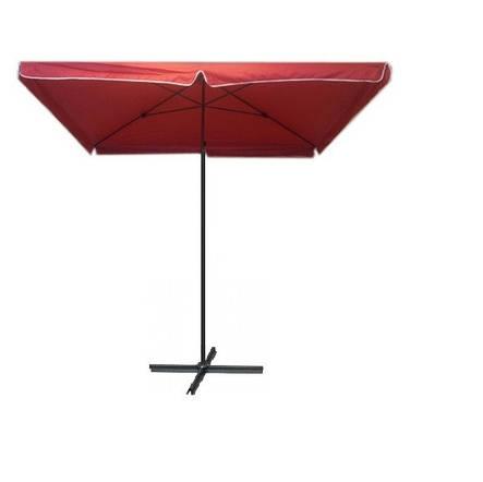 Зонт пляжный и для отдыха на природе прямоугольный 3 х3, фото 2