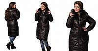Женская куртка, черного цвета, 50-60рр