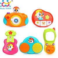 Комплект подвесных музыкальных игрушек на коляску huile toys 3111