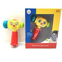 Музыкальная игрушка для малыша Веселый молоток huile toys 3115