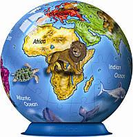 Пазл 3D Земной шар, 72 элемента, Ravensburger