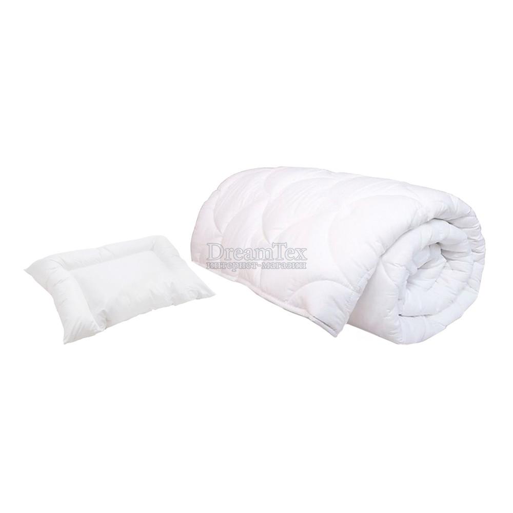 """Комплект детский одеяло Matroluxe """"Teddy"""" 110х140 см + подушка 30х50 см"""