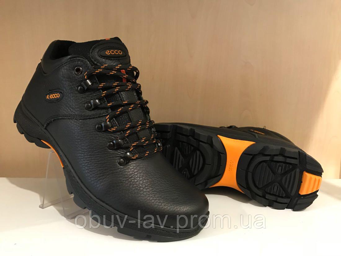 c288cae84 Кожаные мужские зимние кроссовки Ecco - Интернет-магазин спортивной обуви