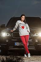 Женский свитшот OMNIA с надписью BOYCOTT DG