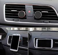 Магнитный держатель, крепление, для смартфонов, телефонов и планшетов в автомобиль на воздуховод, дефлектор.