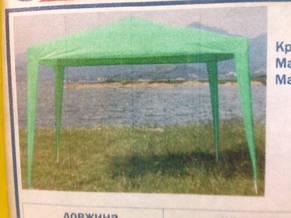 Садовый павильон 3х3м без москитной сетки. (Арт. 3301-1), фото 2