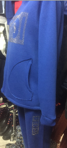 Спортивный костюм Батал Fendi фенди, фото 2