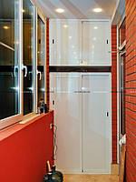 Разработка и установка встроенной мебели на балконе
