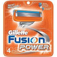 Лезвия Gillette Fusion упаковка 4 шт