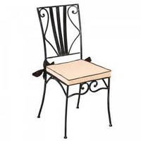 Кованый стул для кафе и ресторана 3