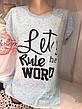 Женская футболка батал (Турция), фото 4
