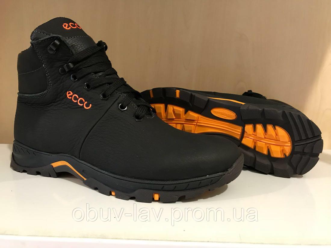 bf7ef7d2b Зимние кожаные высокие ботинки Ecco - Интернет-магазин спортивной обуви
