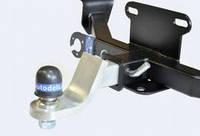 Быстросъемный фаркоп под квадрат вставку (ТСУ, тягово-сцепное устройство) NISSAN PATHFINDER (2004-2010гг)