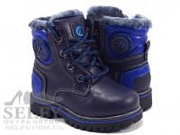 Ботинки детские Clibee H96A blue 21-26 зимние