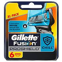 Лезвия Gillette Fusion Proshield упаковка 6 шт