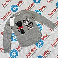 Детские вязаные модные кофты для девочек оптом, фото 1