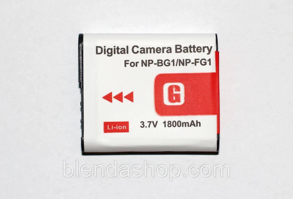 Аккумулятор NP-BG1 для фотоаппаратов Sony (аналог) - 1800 ma