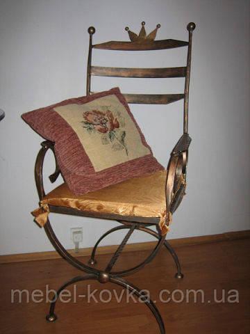 Кованый стул для кухни 25