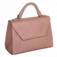 Прямоугольная сумка-бочонок с клапаном 5604-2 Темно-розовый