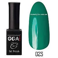 Гель-лак GGA Professional №23 Forest Green 10 мл.