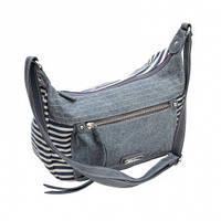 Джинсовая сумка-кроссбоди 5563-1 Джинсовый