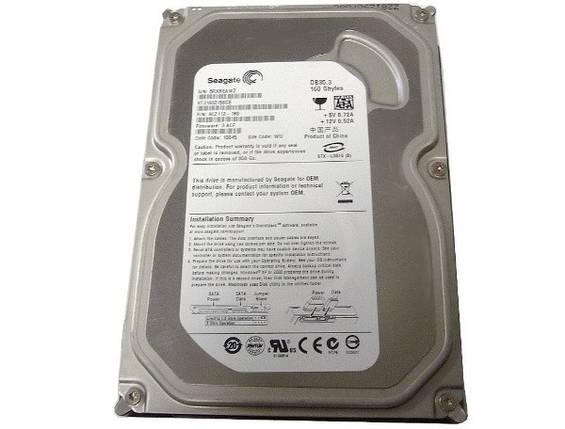 """Жесткий диск 160 Гб Seagate DB35.3, SATA 2, 2Mb, 7200rpm (ST3160215SCE), накопитель винчестер HDD 3.5"""" 160 Gb для компьютера ПК, фото 2"""