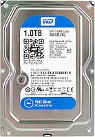 Жесткий диск для компьютера 1Tb Western Digital Blue, SATA3, 64Mb, 5400 rpm (WD10EZRZ) (Ref)