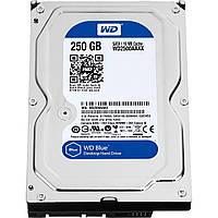 Жесткий диск для компьютера 250Gb Western Digital Blue, SATA3, 16Mb, 7200 rpm (WD2500AAKX) (Ref)