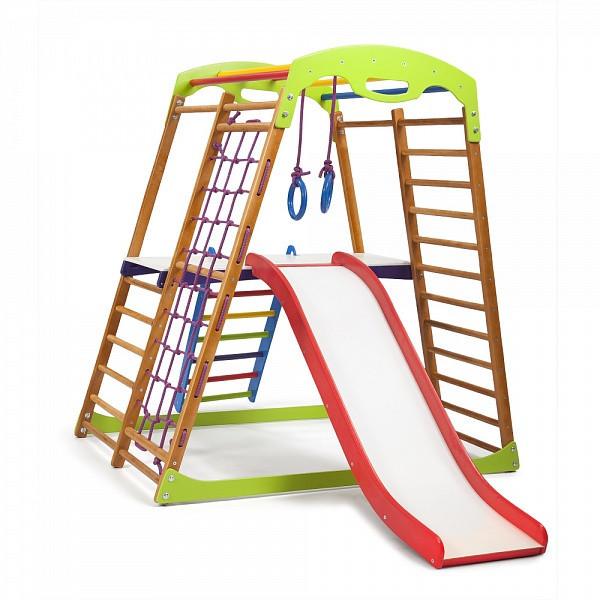 5ecf2842adb3 Детский Спортивный Комплекс для Дома SportBaby BabyWood Plus 2 — в ...