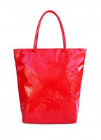 Лаковая сумка POOLPARTY Красный pool86-laque-red