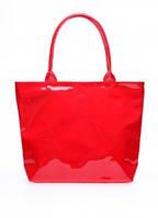 Лаковая сумка POOLPARTY Красный pool7-laque-red