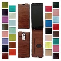 Чехол для Lenovo IdeaPhone A820  (флип - чехол под модель телефона, крепление: клейкая основа)