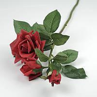 Садовая роза - искусственные цветы нового поколения