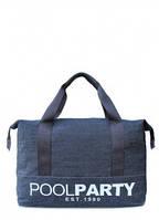 Джинсовая сумка POOLPARTY Синий pool-12-jeans